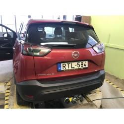 Opel Crossland X vonóhorog