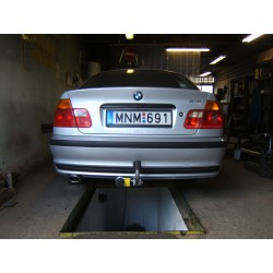 BMW 3-as E46 limuzin, kombi vonóhorog