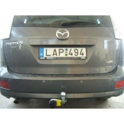 Mazda 5 vonóhorog
