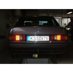 Mercedes 190 vonóhorog