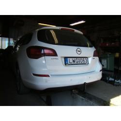 Opel Astra J Sport Tourer kombi vonóhorog