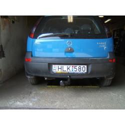 Opel Corsa C vonóhorog